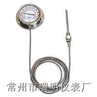 压力式温度计,电接点压力式温度计,WTZ-280压力式温度计,WTZ-288电接点压力式温度计,全不锈钢压力式温度计,出口型压力式温度计 WTZ