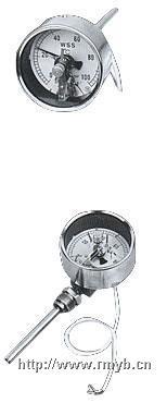 电接点双金属温度计,双金属温度计,万向型双金属温度计 WSSX