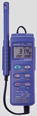 CENTER314数字式温湿度计|台湾群特CENTER-314记忆式温湿度计 CENTER314
