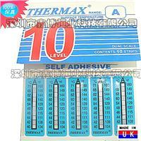 示温纸|十格A型示温纸|英国THERMAX温度美示温纸 十格A型