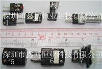 J型热电偶测温端子|美国omega J型分度号热电偶插头插座 J型