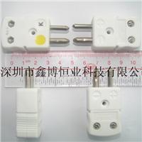 高温陶瓷热电偶插头|NHXH-K-M高温陶瓷热电偶插头 NHXH-K-M