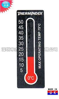 10格可逆测温纸5-50度 英国TMC全新测温纸产品 10格可逆测温纸5-50度