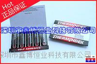 可逆可逆溫度顯示貼紙-英國TMC 55-100度可逆溫度顯示貼紙