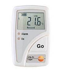 防水型双通道温度记录盒 testo 175-T2