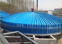 玻璃钢污水池气体收集盖板