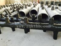 DN6200钢制脱硫塔喷淋层(玻璃钢喷淋管道)