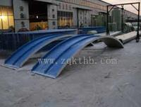 污水池罩(玻璃钢拱形盖板 污水池加盖)