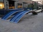 污水池加盖除臭(玻璃钢拱形盖板)