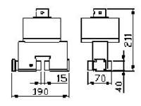 氣動油壓夾具 YG-J041