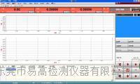 萬能材料試驗機測試軟件專業版 YG-M223pro A