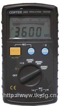 CENTER360数位绝缘電阻计 CENTER 360