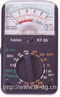 KF-2A指针式模拟万用表 KF-2A