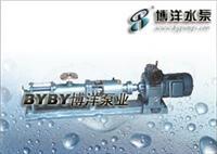 XBD-ISW卧式消防泵 XBD-ISW型单吸单级/G型单螺杆泵(配无级调速电机)/上海水泵厂021-63800050 G60-2