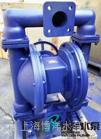 上海QBS型手动隔膜泵 不锈钢手动隔膜泵 铝合金手动隔膜泵  手摇隔膜泵 QBS型