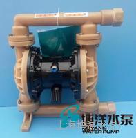 QBY型衬氟气动隔膜泵 耐腐蚀气动隔膜泵 衬氟气动隔膜泵 QBY型
