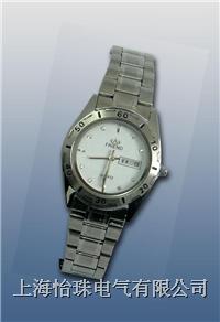 (双日历不锈钢)石英手表近电报警器  WBF-III型04