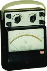 电动系交直流单相瓦特表  0.5级D77-W