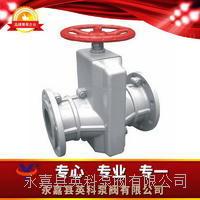 鋁合金管夾閥 GJ41X-6L型