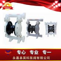 法兰塑料气动隔膜泵 QBK-25PPF46