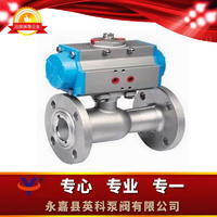 氣動整體高溫球閥 QJ641M/F