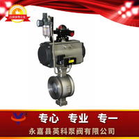 V型球阀 Qv47(Qv67)Y(F)-1.6~2.5