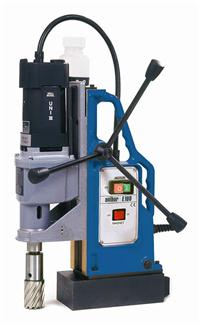 E100磁力钻 Unibor 打孔至直径100mm