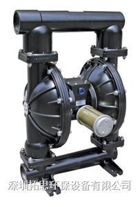 廣東拓思GMK50氣動隔膜泵加藥耐酸堿污泥輸送
