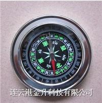 掌上罗盘不锈钢掌上罗盘【高档指南针指北针】|旅游必备 7.5厘米直径