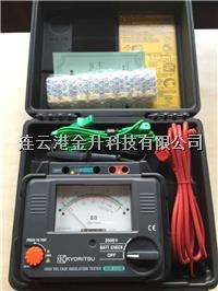 高压绝缘电阻测试仪 MODEL 3121B(共立2500V指针式高压兆欧表)  MODEL 3121B