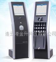 全自动无人值守高效便捷17寸工业LED屏警仪数据采集工作站WS03 WS05 WS03 WS05