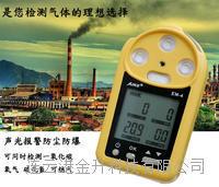 便携式气体检测仪 EM-4澳洲新 可检测4种气体 声光报警 防尘防爆  EM-4
