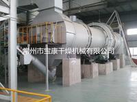 HZG回转滚筒干燥机 直接加热顺流式