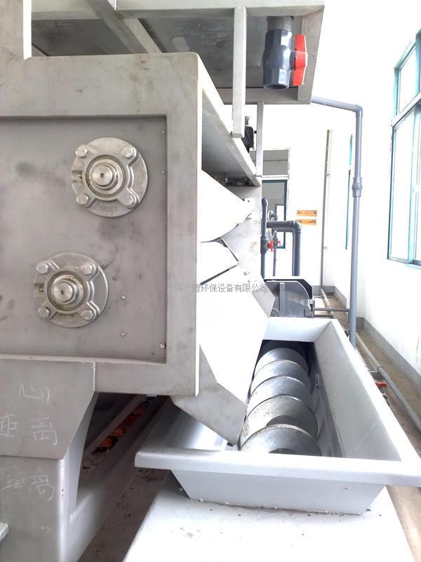 转鼓浓缩带式压滤机 带式压滤机 污泥脱水机