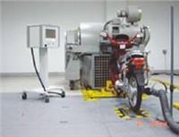 摩托车道路模拟及排气检测模拟环境测试室