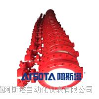 ARSOTA直销双向流硬碰硬旋球阀 球磨铸铁旋球阀 铸钢旋球阀 GWXDF3204H型