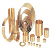 青銅卷制軸承、無油潤滑軸承
