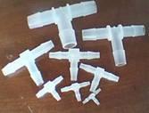 塑料插管接头  1/16-1/2(1.6-12.8)