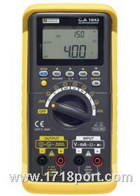 过程校验仪 CA1643 法国CA1643