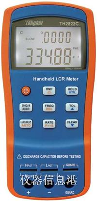 TH2822A TH2822 TH2822C U1732B U1731A 手持式数字电桥参数全面比较 TH2822A U1732B 价格