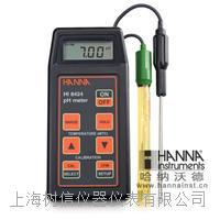 意大利哈纳微电脑酸度pH-氧化还原ORP-温度°C测定仪 HI8424