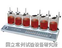 多头磁力加热搅拌器 HJ-6