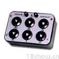 直流电阻箱ZX21(六组开关)