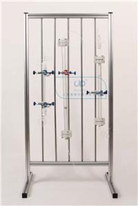 中压特制玻璃层析柱(带转换接头柱塞) 中压特制玻璃层析柱