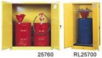 黄色竖放油桶安全柜 SC29701