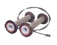 PTFE推(挤)压管紧衬直管 PTFE紧衬直管及管配件