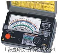 日本共立3322A 指针式绝缘电阻测试仪 3322A