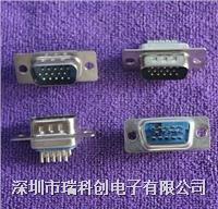 滤波连接器 DB15 VGA  公 焊杯 点击进入规格书