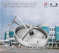不锈钢椭圆人孔盖YAC型D-卫生级 YX-YACD