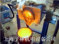 中頻感應金屬熔煉設備(傾倒式熔煉爐)